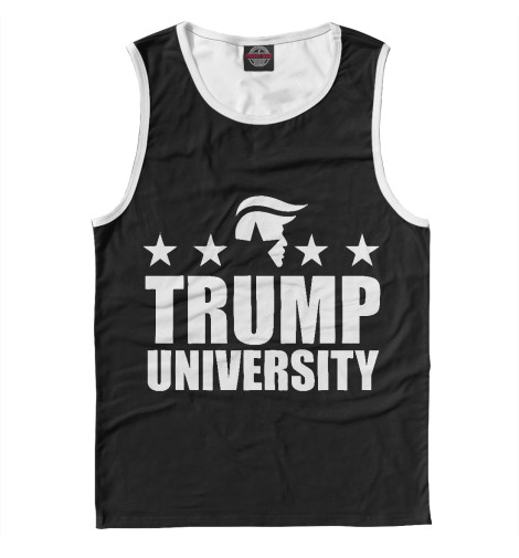 Майка Print Bar Trump University майка борцовка print bar trump body