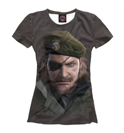 Футболка Print Bar Metal Gear футболка print bar black metal ist krieg