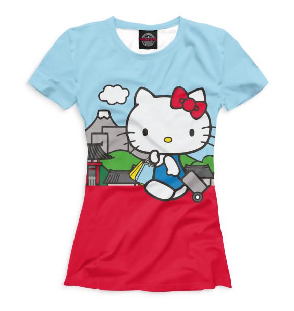 Hello kitty футболки