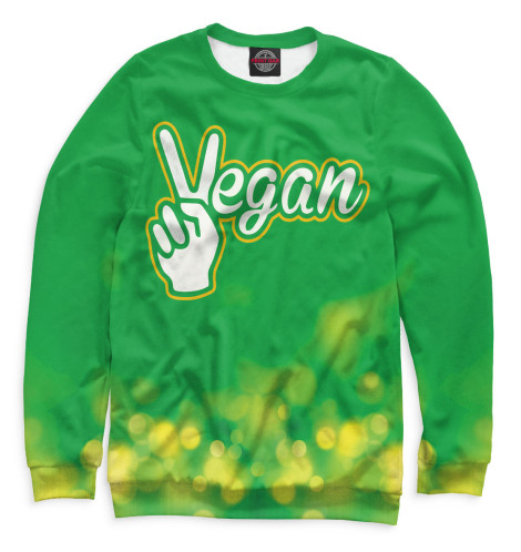 Свитшот Print Bar Vegan свитшот print bar go vegan