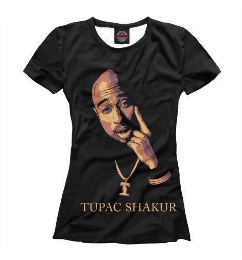 Футболка Print Bar TUPAC SHAKUR детская футболка классическая унисекс printio 2pac tupac