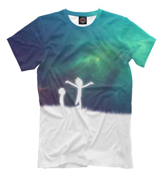 Купить Мужская футболка Рик и морти RNM-454091-fut-2