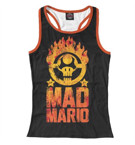 Майка борцовка Print Bar Mad Mario майка борцовка print bar серф авто