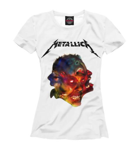 Футболка Print Bar Metallica Hardwired десятый голод