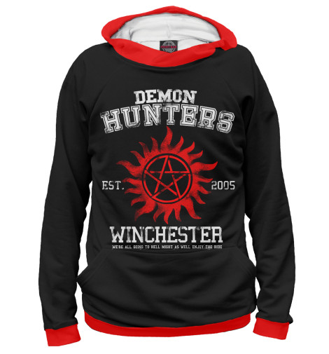 Худи Print Bar Demon Hunters футболка print bar demon hunters