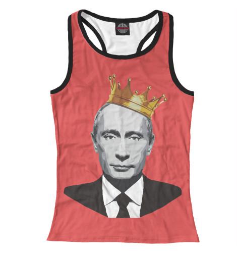 Майка борцовка Print Bar Putin King кепка printio vladimir putin