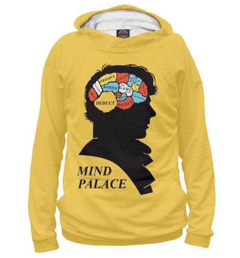Худи Print Bar Mind palace худи print bar acid mind