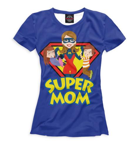 Женская футболка Супер мама