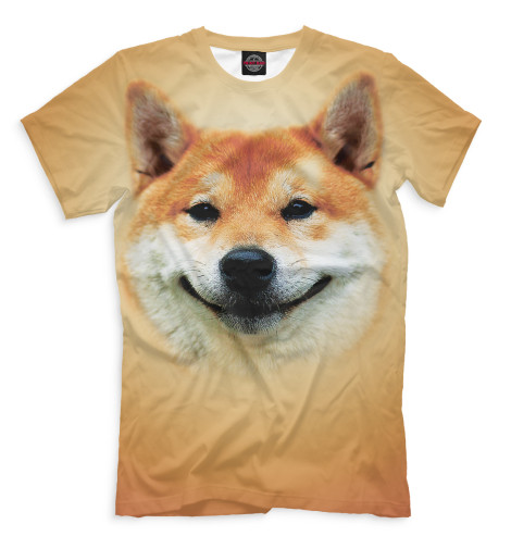 Мужская футболка Сиба-ину