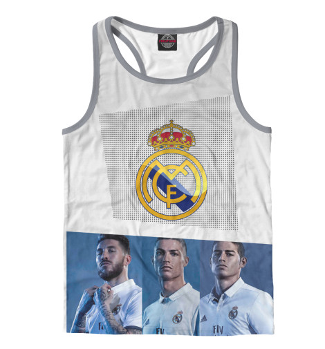 Майка борцовка Print Bar Real Madrid Collection пеналы target collection пенал овальный fc real madrid