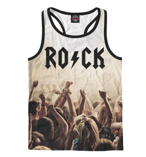 Майка борцовка Print Bar Rock майка борцовка print bar lets rock