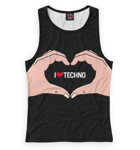 Майка борцовка Print Bar Techno майка борцовка print bar techno viking