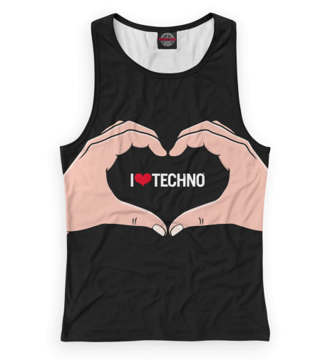 Женская майка-борцовка Techno