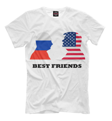 Футболка Print Bar Best Friends best friends club ink dollpack twins aleisha noelle