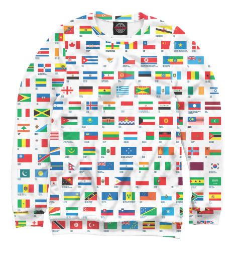Свитшот Print Bar Флаги