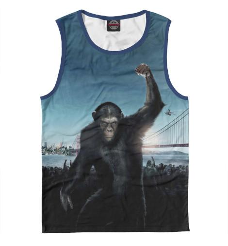 Майка Print Bar Восстание планеты обезьян поло print bar война планеты обезьян