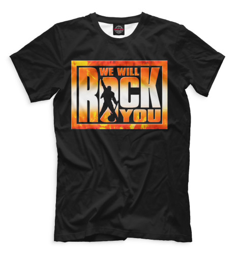 Мужская футболка We Will Rock You