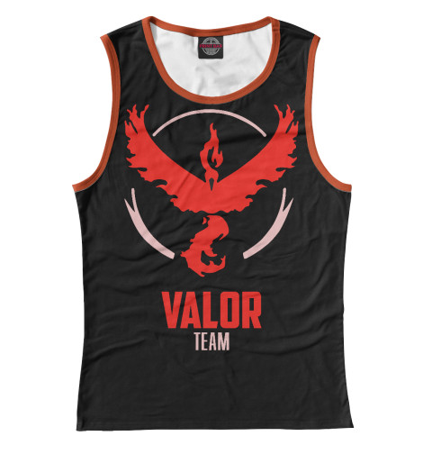 Майка Print Bar Pokemon GO - Valor Team футболка print bar valor pokemon team