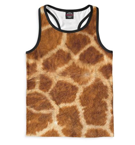 Мужская майка-борцовка Жираф