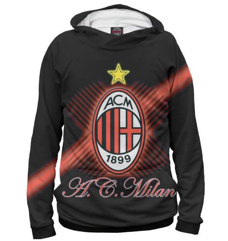 Женское худи Герб AC Milan