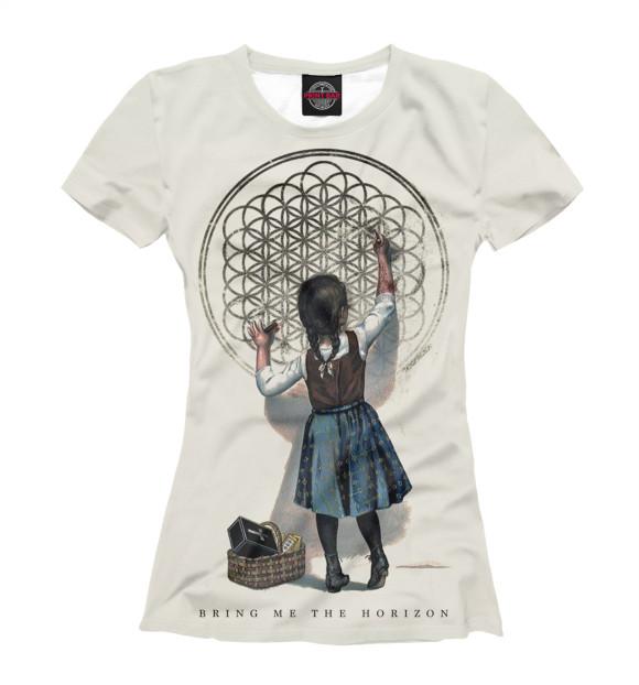 Купить Женская футболка Bring Me The Horizon BRI-676110-fut-1