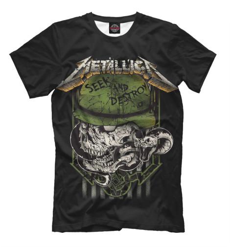 Футболка Print Bar Metallica Seek and Destroy seek thermal