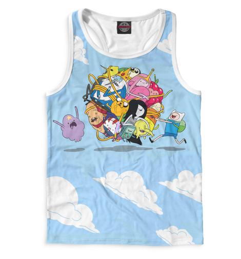 Купить Мужская майка-борцовка Adventure Time ADV-299312-mayb-2