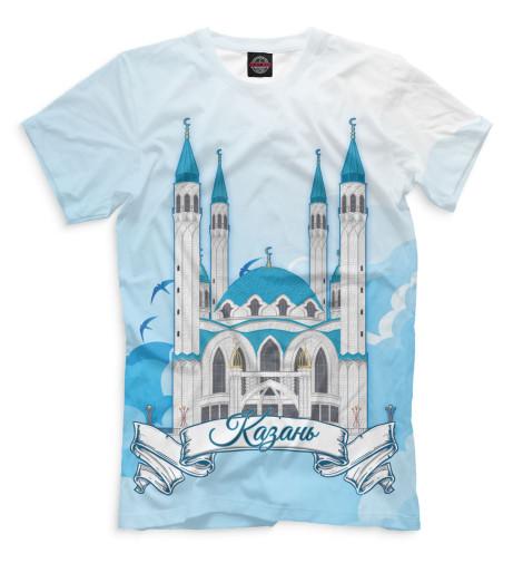 Мужская футболка Казань