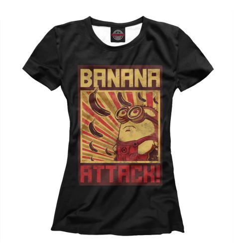 Футболка Print Bar Banana Attack поло print bar banana