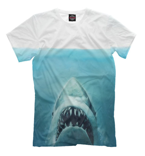 Футболка Print Bar Акула футболка wearcraft premium slim fit printio акула