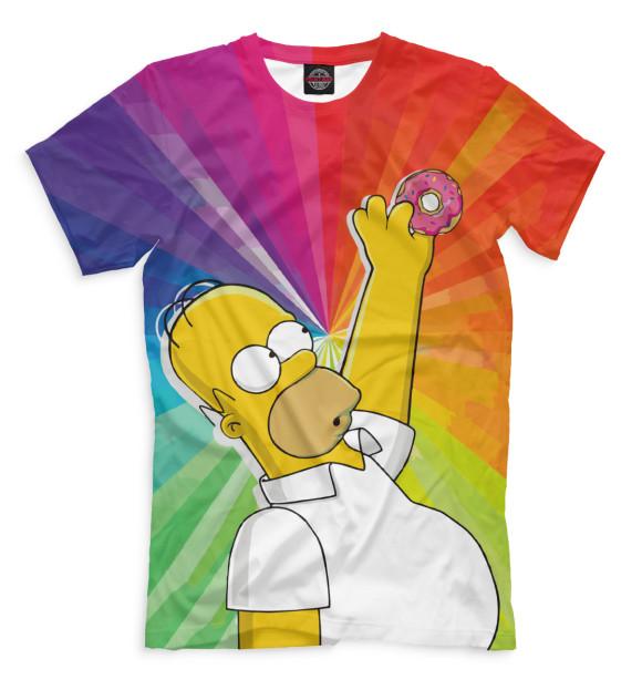 Купить Мужская футболка Гомер SIM-870032-fut-2