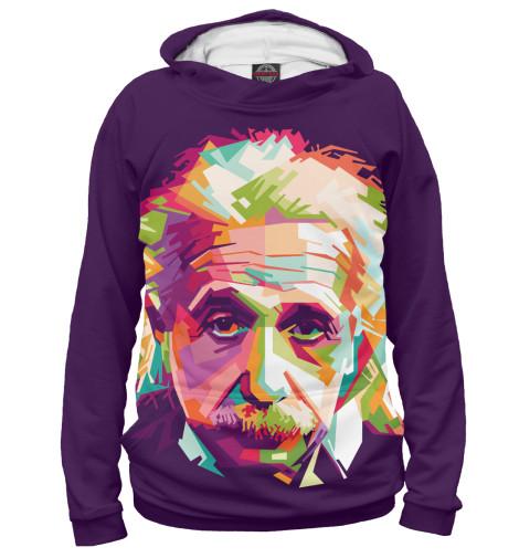 Худи Print Bar Альберт Энштейн альберт кузнецов элементарная электротехника