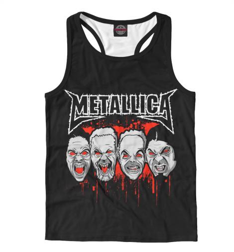 Майка борцовка Print Bar Metallica Zombies майка классическая printio i love metallica