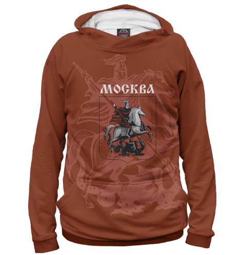 Женское худи Герб Москвы