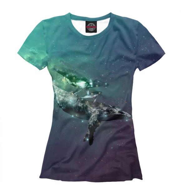 Купить Женская футболка Кит APD-309888-fut-1