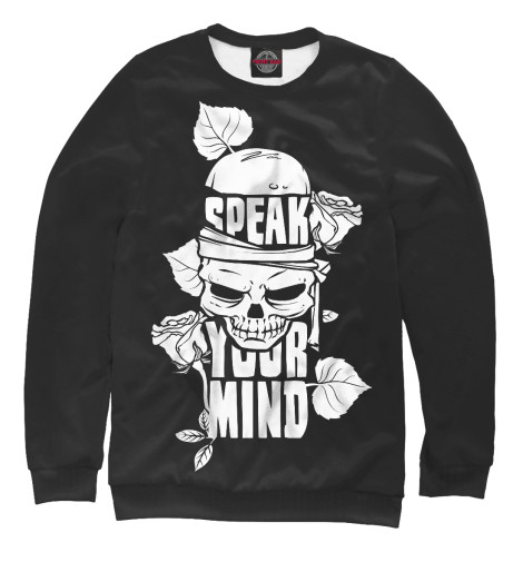 Свитшот Print Bar Speak Your Mind свитшот print bar pure mind