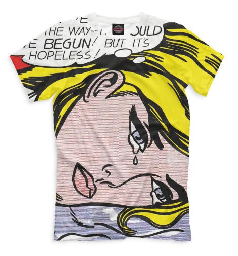 Мужская футболка Поп-арт
