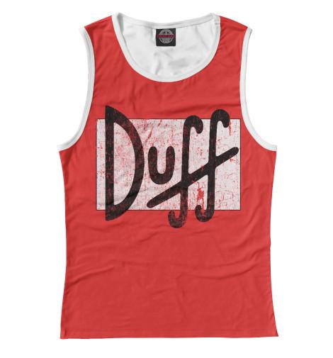 Купить Женская майка Пиво Duff SIM-263677-may-1