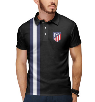 Мужское Поло Atletico Madrid Line Edition