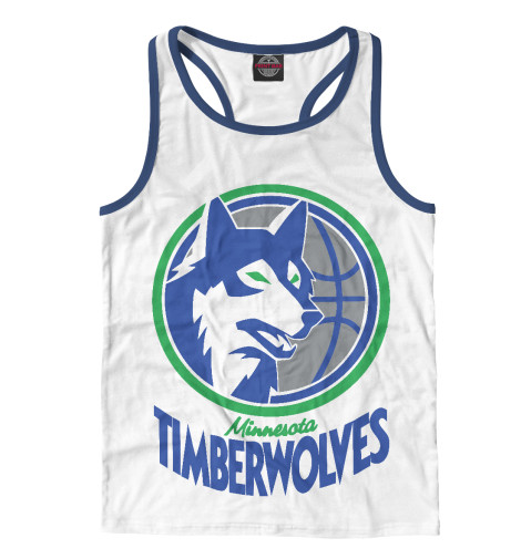 Майка борцовка Print Bar Minnesota Timberwolves ботинки meindl meindl minnesota pro женские