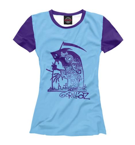 Купить Футболка для девочек Gorillaz GLZ-499467-fut-1