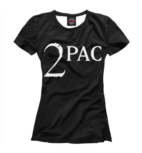Футболка Print Bar 2Pac лонгслив printio тупак шакур 2pac