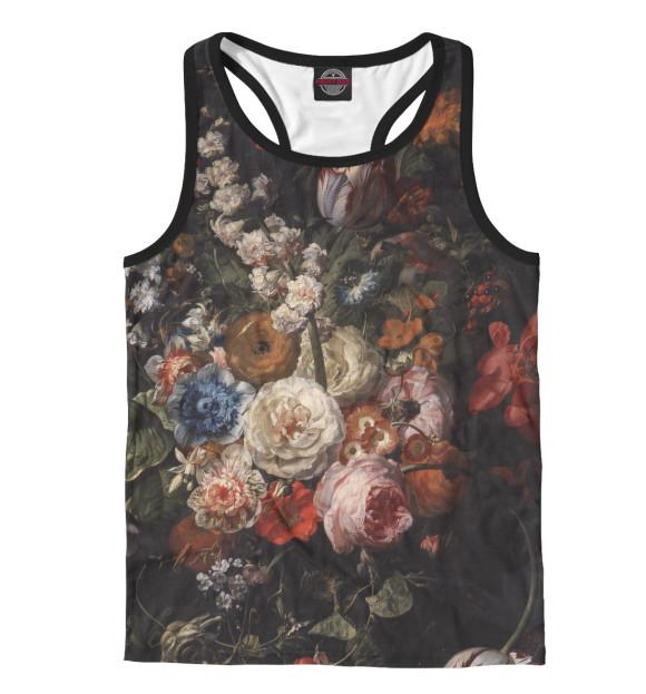 Купить Мужская майка-борцовка Цветы CVE-146954-mayb-2