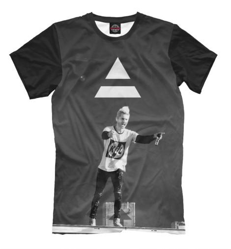 Футболка Print Bar 30 Seconds To Mars футболка print bar 30 seconds to mars triad