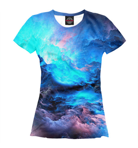 Купить Женская футболка Абстракция MAC-209177-fut-1