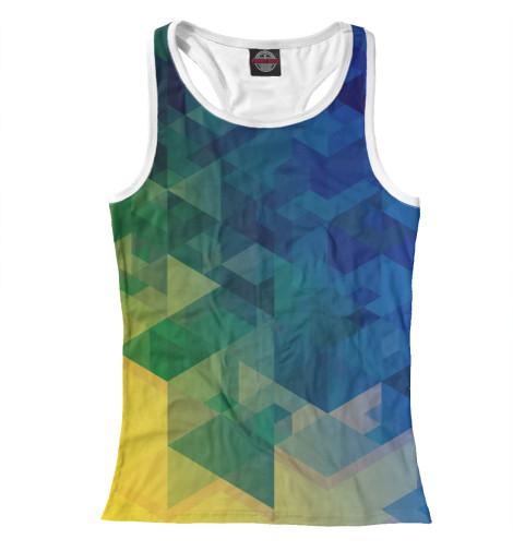 Майка борцовка Print Bar Triangle футболка print bar triangle orange grey