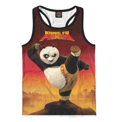 Майка борцовка Print Bar Kung Fu Panda футболка print bar kung fu panda