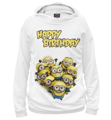 Худи Print Bar Happy Birthday гирлянда happy birthday 1 6 метра