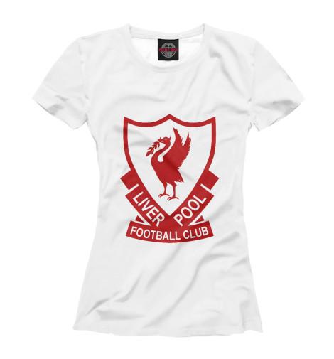 Футболка Print Bar FC Liverpool ботинки marco tozzi полуботинки