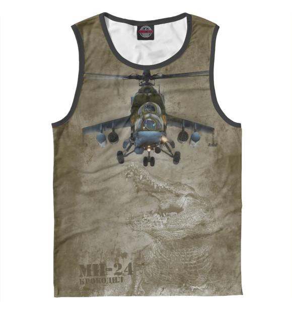 Купить Мужская майка Вертолет Ми-24 «Крокодил» VVS-867412-may-2